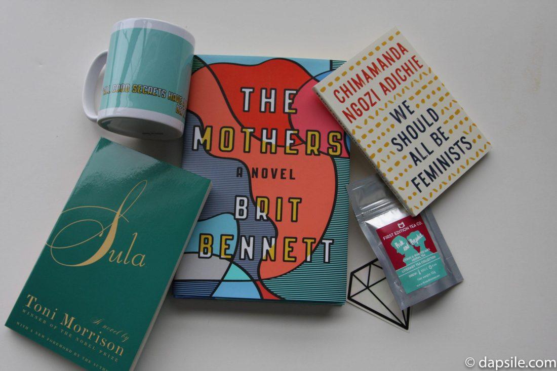 Quarterly Fall 2016 Literary Box contents