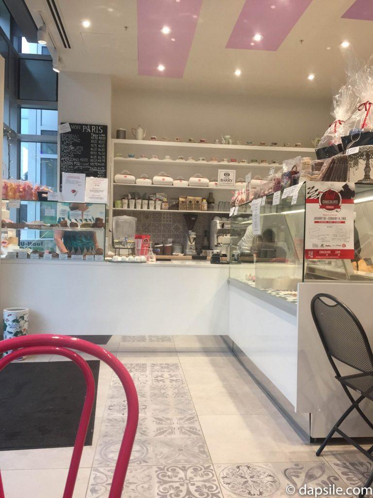 Hot Chocolate Festival Mon Paris Patisserie shop