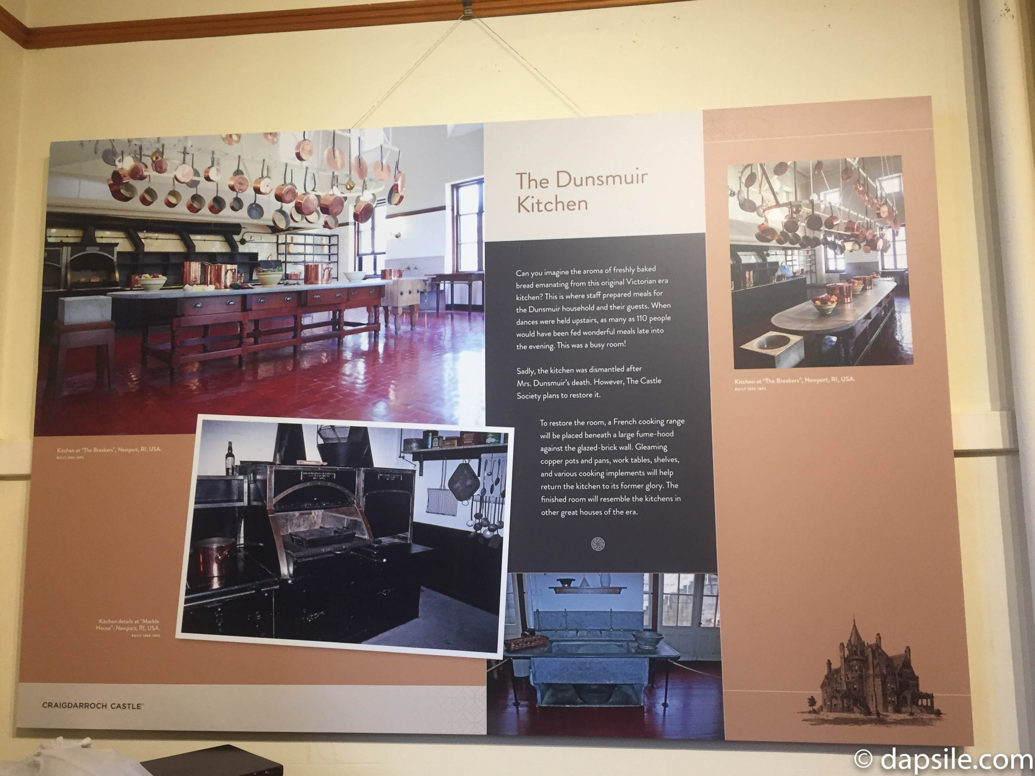 Future Plans for the Kitchen at Craigdarroch Castle