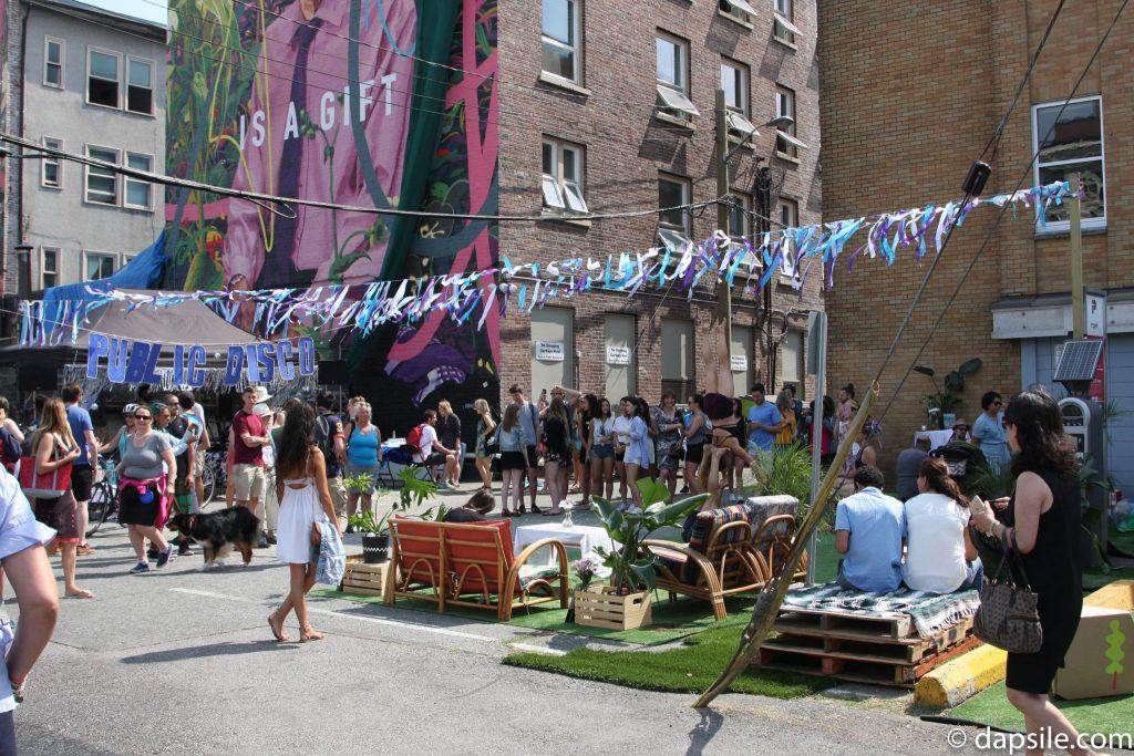 Mural Festival Public Disco Area Summer Street Festivals in the Vancouver Area