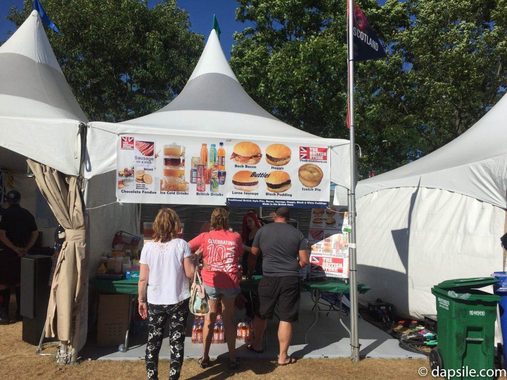 Scotland and the British Store Food Pavilion