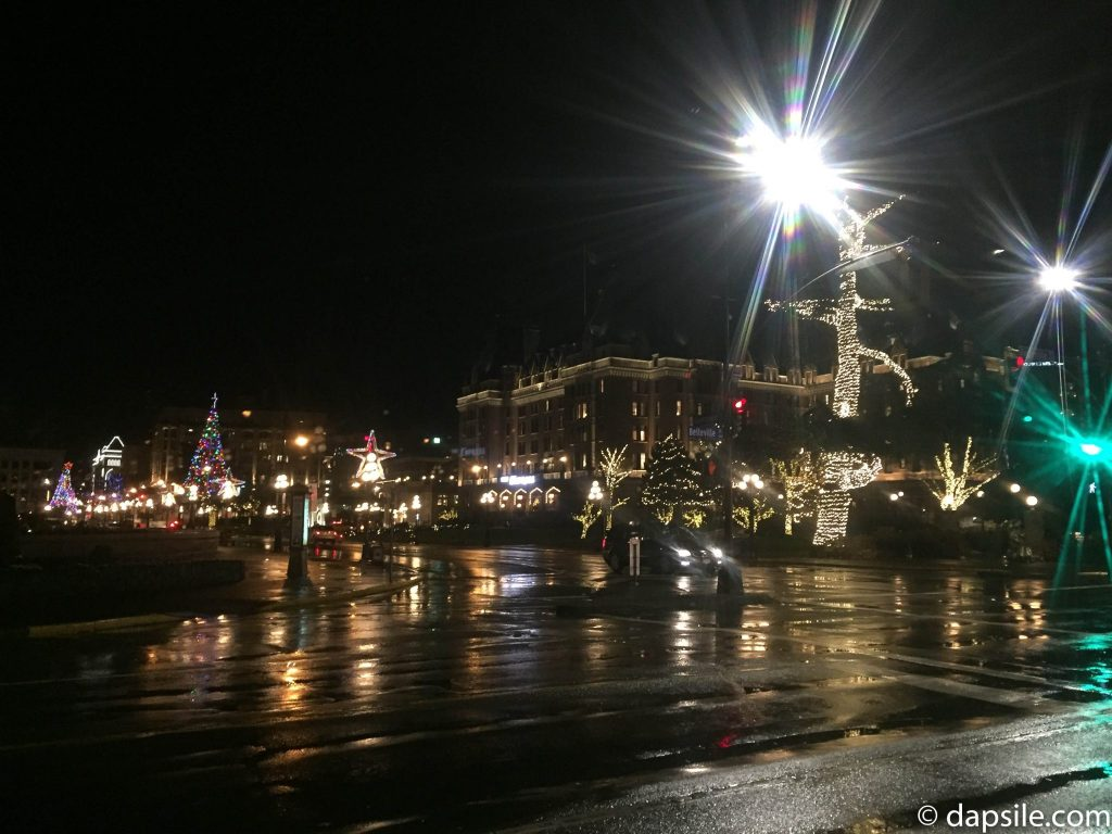 Streets in Victoria Decorated
