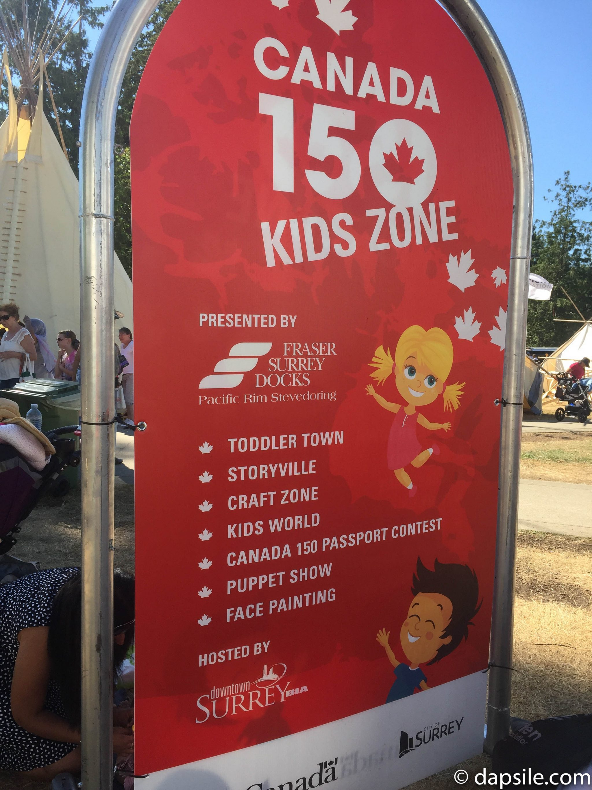Summer Street Festivals in the Vancouver Area Surrey Fusion Festival Kids Zone Fun