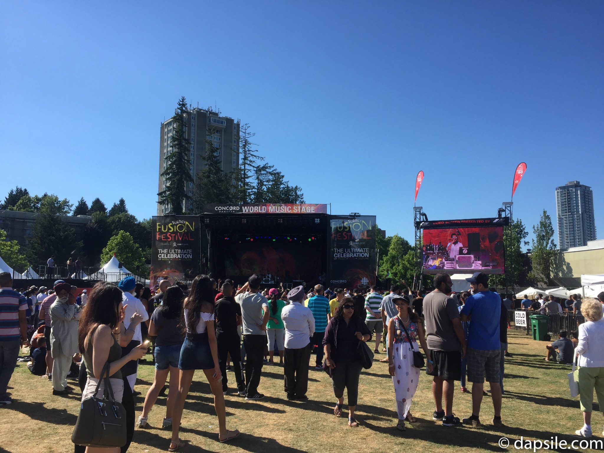Summer Street Festivals in the Vancouver Area World Music Stage