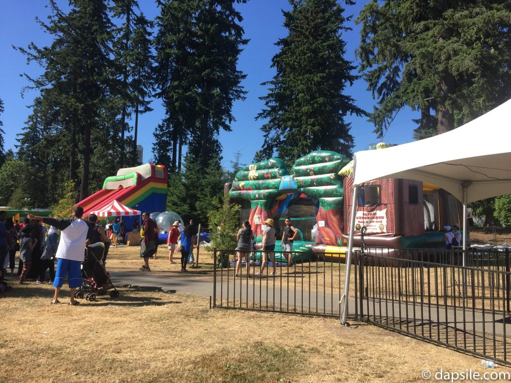 Surrey Fusion Festival Bouncy Fun