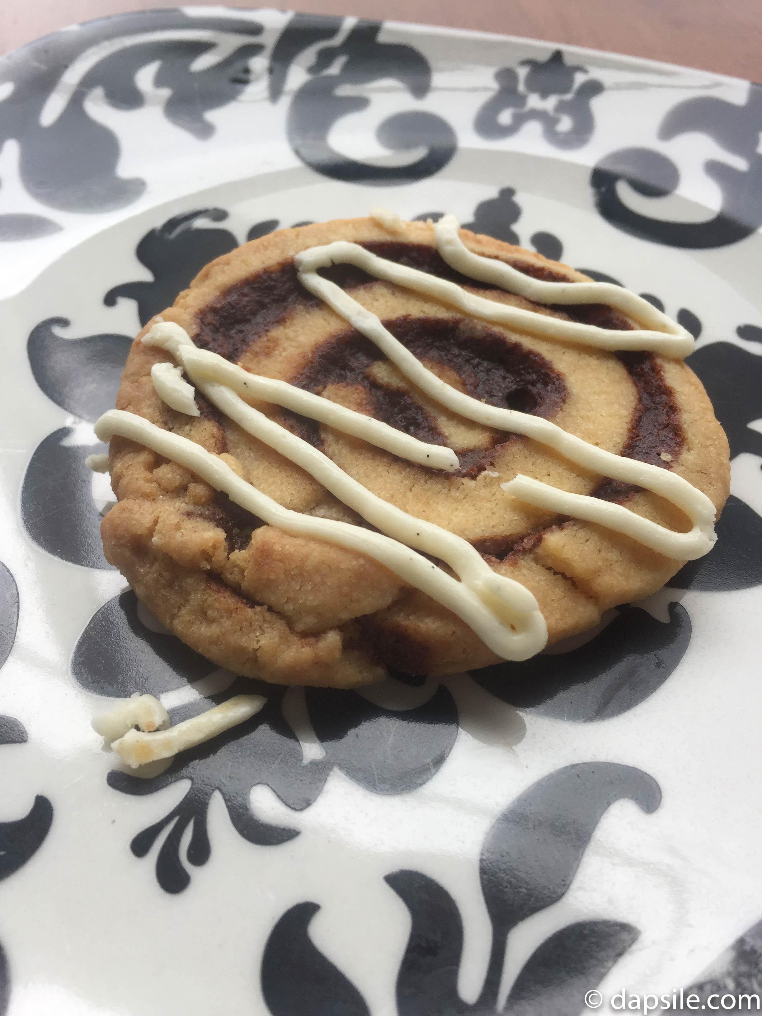 Sweet Somethings Cookie Challenge Cinnamon Bun Cookie