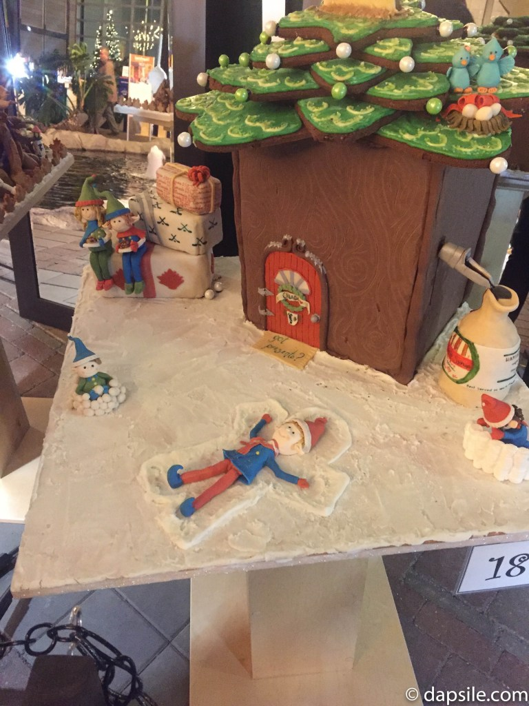 Things to Do in Victoria Gingerbread House Display Snow Angels