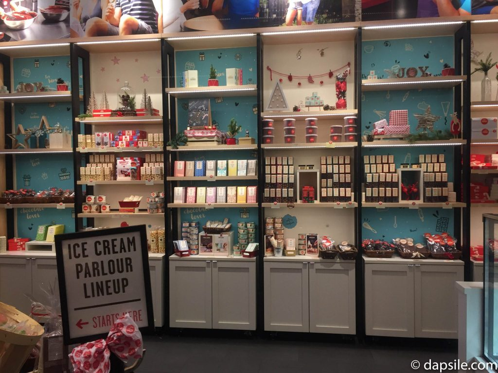 Things to do in Victoria Chocolats Favoris Wall of Chocolate Bars and Treats