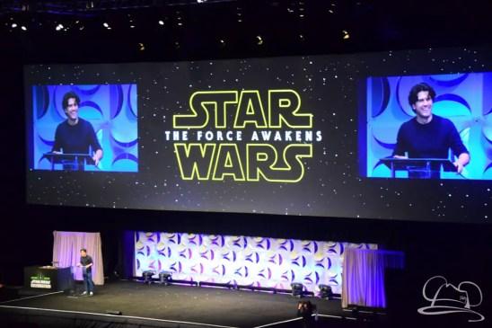 Star Wars The Force Awakens Panel Star Wars Celebration Anaheim-10