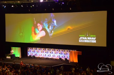 Star Wars The Force Awakens Panel Star Wars Celebration Anaheim-2