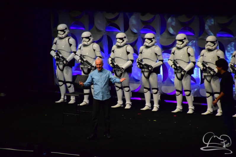 Star Wars The Force Awakens Panel Star Wars Celebration Anaheim-58