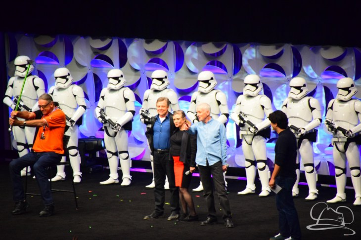 Star Wars The Force Awakens Panel Star Wars Celebration Anaheim-79