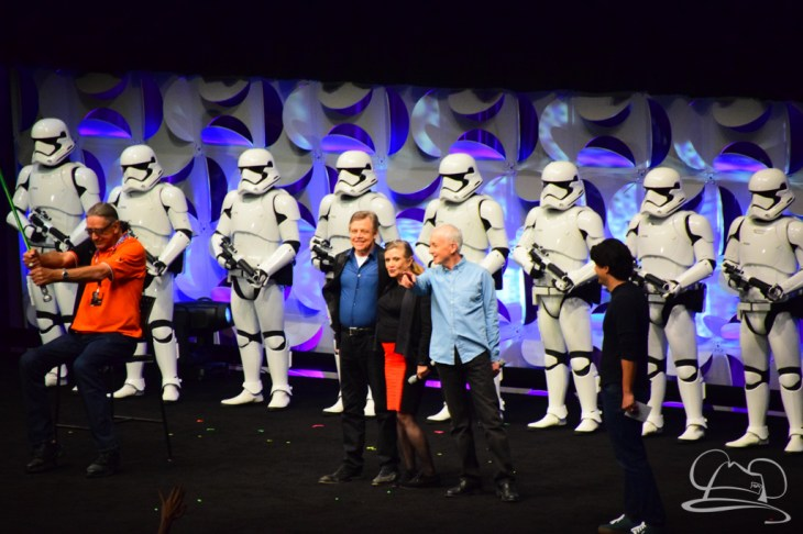 Star Wars The Force Awakens Panel Star Wars Celebration Anaheim-80