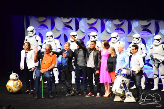 Star Wars The Force Awakens Panel Star Wars Celebration Anaheim-86