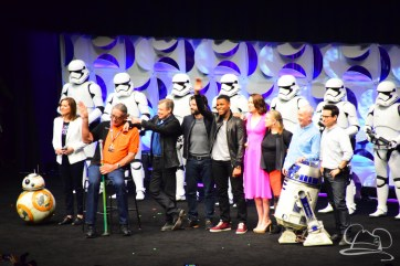 Star Wars The Force Awakens Panel Star Wars Celebration Anaheim-89