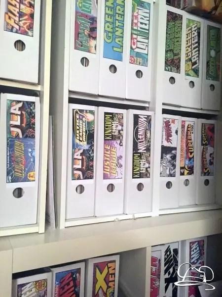 Stylish Comic Book Storage
