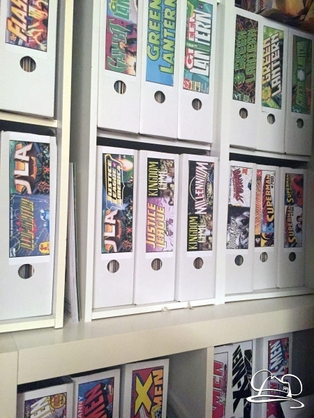 Stylish Comic Book Storage