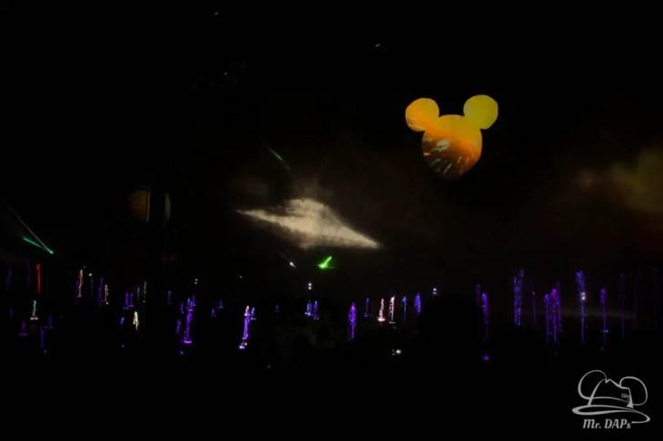 Disneyland 60th Anniversary Celebration World of Color - Celebrate-110