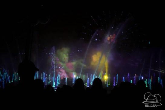 Disneyland 60th Anniversary Celebration World of Color - Celebrate-141