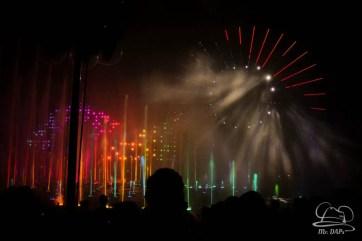 Disneyland 60th Anniversary Celebration World of Color - Celebrate-162