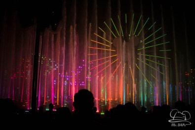 Disneyland 60th Anniversary Celebration World of Color - Celebrate-164