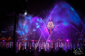 Disneyland 60th Anniversary Celebration World of Color - Celebrate-170