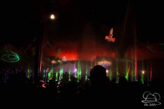 Disneyland 60th Anniversary Celebration World of Color - Celebrate-96