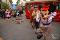 Minnie Mouse Joins Mickey Mouse in Red Car Trolley News Boys-29
