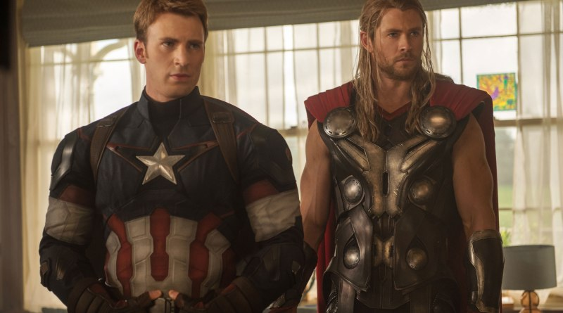 Avengers: Age of Ultron - Captain America & Thor