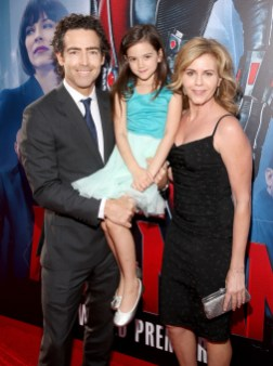 "LOS ANGELES, CA - JUNE 29: Actors John Fortson, Abby Ryder Fortson and Christie Lynn Smith attend the world premiere of Marvel's ""Ant-Man"" at The Dolby Theatre on June 29, 2015 in Los Angeles, California. (Photo by Jesse Grant/Getty Images for Disney) *** Local Caption *** John Fortson;Abby Ryder Fortson;Christie Lynn Smith"