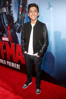 "LOS ANGELES, CA - JUNE 29: Actor Karan Brar attends the world premiere of Marvel's ""Ant-Man"" at The Dolby Theatre on June 29, 2015 in Los Angeles, California. (Photo by Jesse Grant/Getty Images for Disney) *** Local Caption *** Karan Brar"