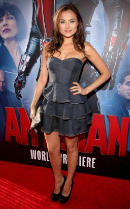 """LOS ANGELES, CA - JUNE 29: Actress Christina Ochoa attends the world premiere of Marvel's """"Ant-Man"""" at The Dolby Theatre on June 29, 2015 in Los Angeles, California. (Photo by Jesse Grant/Getty Images for Disney) *** Local Caption *** Christina Ochoa"""