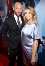 """LOS ANGELES, CA - JUNE 29: Actors Corey Stoll (L) and Nadia Bowers attend the world premiere of Marvel's """"Ant-Man"""" at The Dolby Theatre on June 29, 2015 in Los Angeles, California. (Photo by Jesse Grant/Getty Images for Disney) *** Local Caption *** Corey Stoll;Nadia Bowers"""
