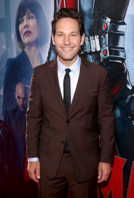 "LOS ANGELES, CA - JUNE 29: Actor Paul Rudd attends the world premiere of Marvel's ""Ant-Man"" at The Dolby Theatre on June 29, 2015 in Los Angeles, California. (Photo by Jesse Grant/Getty Images for Disney) *** Local Caption *** Paul Rudd"
