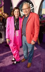 HOLLYWOOD, CA - JUNE 08: Actors Paula Poundstone (L) and Lewis Black attend the Los Angeles Premiere and Party for Disney•Pixar's INSIDE OUT at El Capitan Theatre on June 8, 2015 in Hollywood, California. (Photo by Alberto E. Rodriguez/Getty Images for Disney) *** Local Caption *** Paula Poundstone; Lewis Black