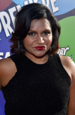 HOLLYWOOD, CA - JUNE 08: Actress Mindy Kaling attends the Los Angeles Premiere and Party for Disney•Pixar's INSIDE OUT at El Capitan Theatre on June 8, 2015 in Hollywood, California. (Photo by Alberto E. Rodriguez/Getty Images for Disney) *** Local Caption *** Mindy Kaling