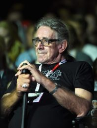 SAN DIEGO, CA - JULY 10: Actor Peter Mayhew at the Hall H Panel for `Star Wars: The Force Awakens` during Comic-Con International 2015 at the San Diego Convention Center on July 10, 2015 in San Diego, California. (Photo by Michael Buckner/Getty Images for Disney) *** Local Caption *** Peter Mayhew