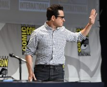 SAN DIEGO, CA - JULY 10: Director J.J. Abrams at the Hall H Panel for `Star Wars: The Force Awakens` during Comic-Con International 2015 at the San Diego Convention Center on July 10, 2015 in San Diego, California. (Photo by Michael Buckner/Getty Images for Disney) *** Local Caption *** J.J. Abrams
