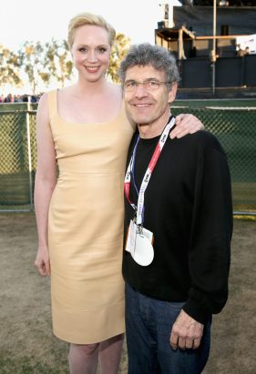SAN DIEGO, CA - JULY 10: Actors Gwendoline Christie (L), Chairman, The Walt Disney Studios, Alan Horn and more than 6000 fans enjoyed a surprise `Star Wars` Fan Concert performed by the San Diego Symphony, featuring the classic `Star Wars` music of composer John Williams, at the Embarcadero Marina Park South on July 10, 2015 in San Diego, California. (Photo by Jesse Grant/Getty Images for Disney) *** Local Caption *** Gwendoline Christie; Alan Horn