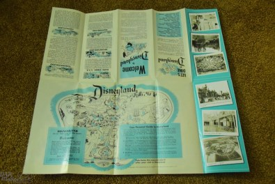 Maps folded out to reveal the original map