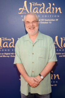 "BURBANK, CA - SEPTEMBER 27: Director/producer Ron Clements attends a special LA screening celebrating Diamond Edition release of ""ALADDIN"" at The Walt Disney Studios on September 27, 2015 in Burbank, California. (Photo by Jesse Grant/Getty Images for Disney) *** Local Caption *** Ron Clements"