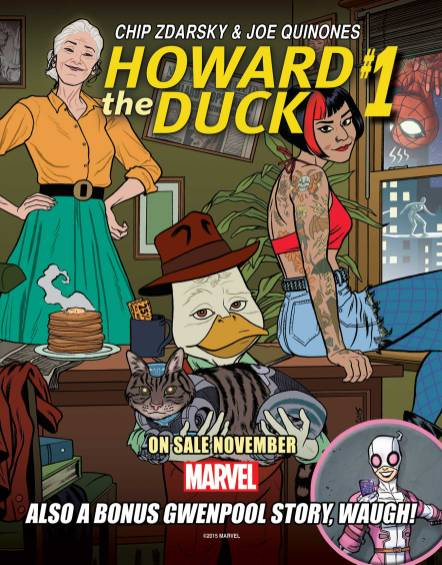Howard_the_Duck_1_Promotional_Postcard