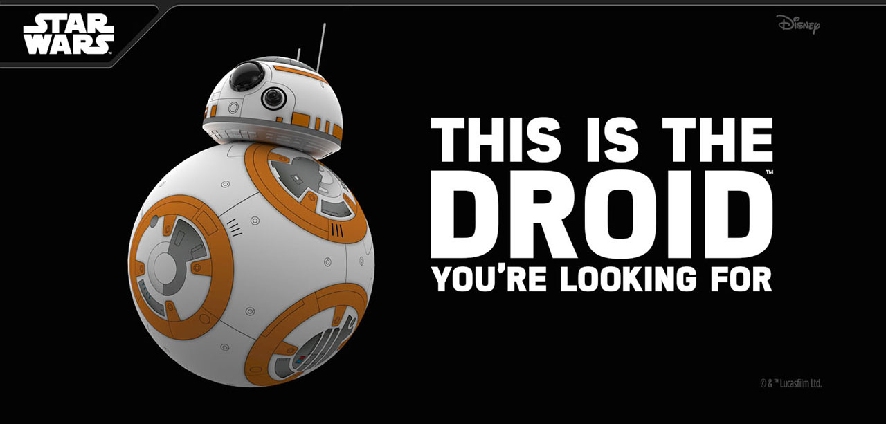 This Is the DROID You're Looking For - BB-8 Sphero