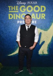 HOLLYWOOD, CA - NOVEMBER 17: Director Peter Sohn attends the World Premiere Of Disney-Pixar's THE GOOD DINOSAUR at the El Capitan Theatre on November 17, 2015 in Hollywood, California. (Photo by Alberto E. Rodriguez/Getty Images for Disney) *** Local Caption *** Peter Sohn