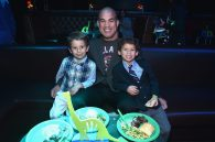 HOLLYWOOD, CA - NOVEMBER 17: Mixed martial artist Tito Ortiz and family attend the World Premiere Of Disney-Pixar's THE GOOD DINOSAUR at the El Capitan Theatre on November 17, 2015 in Hollywood, California. (Photo by Alberto E. Rodriguez/Getty Images for Disney) *** Local Caption *** Tito Ortiz