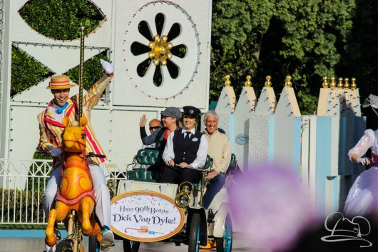 Dick Van Dyke's 90th Birthday at Disneyland-1
