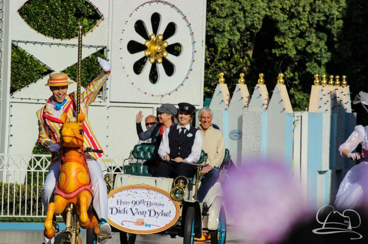 Dick Van Dyke's 90th Birthday at Disneyland-1