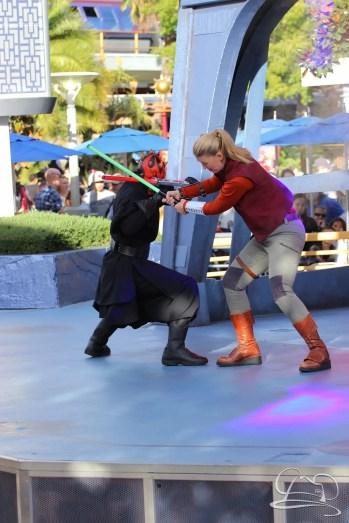 Jedi Training Trials of the Temple Disneyland-101