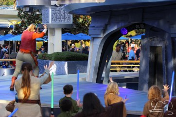 Jedi Training Trials of the Temple Disneyland-122