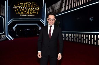 HOLLYWOOD, CA - DECEMBER 14: Director J.J. Abrams attends the World Premiere of ?Star Wars: The Force Awakens? at the Dolby, El Capitan, and TCL Theatres on December 14, 2015 in Hollywood, California. (Photo by Alberto E. Rodriguez/Getty Images for Disney) *** Local Caption *** J.J. Abrams